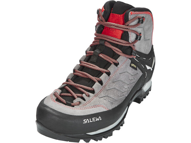 SALEWA MTN Trainer Mid GTX Chaussures Homme, charcoal/papavero